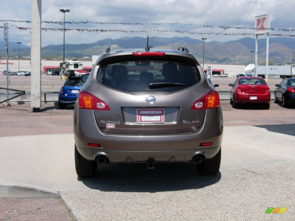 2010 Murano SL AWD - Tinted Bronze Metallic / Black photo #13