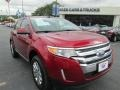Ruby Red 2013 Ford Edge Limited