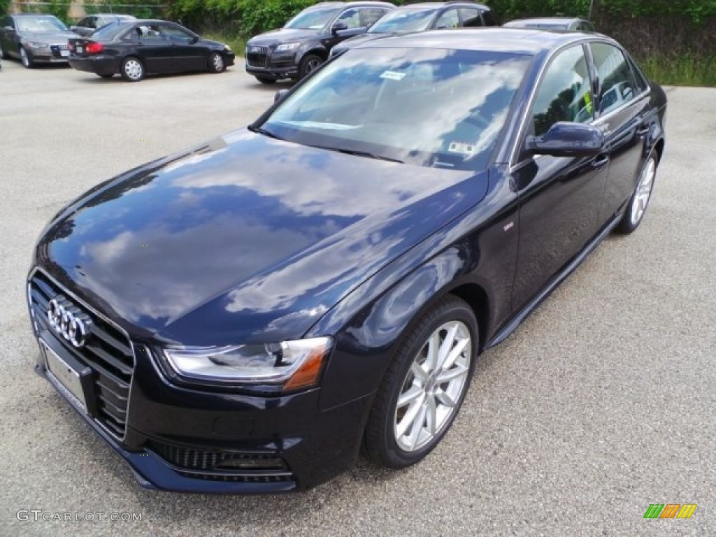 Moonlight Blue Metallic 2014 Audi A4 2 0t Quattro Sedan