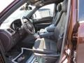 Summit Grand Canyon Jeep Brown Natura Leather Interior Photo for 2014 Jeep Grand Cherokee #94298288