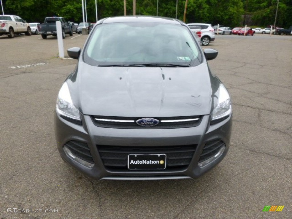 2014 Escape SE 2.0L EcoBoost 4WD - Sterling Gray / Charcoal Black photo #3