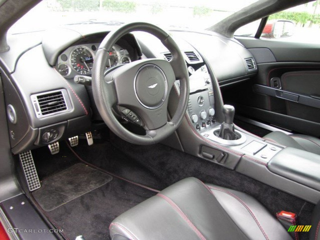 2007 Aston Martin V8 Vantage Coupe Interior Photo