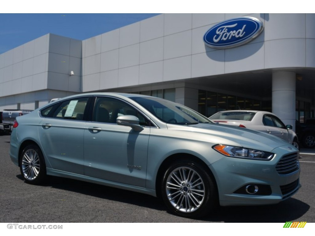 2014 ice storm ford fusion hybrid se 94320438 car color galleries. Black Bedroom Furniture Sets. Home Design Ideas