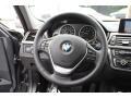 Black Steering Wheel Photo for 2014 BMW 3 Series #94334510