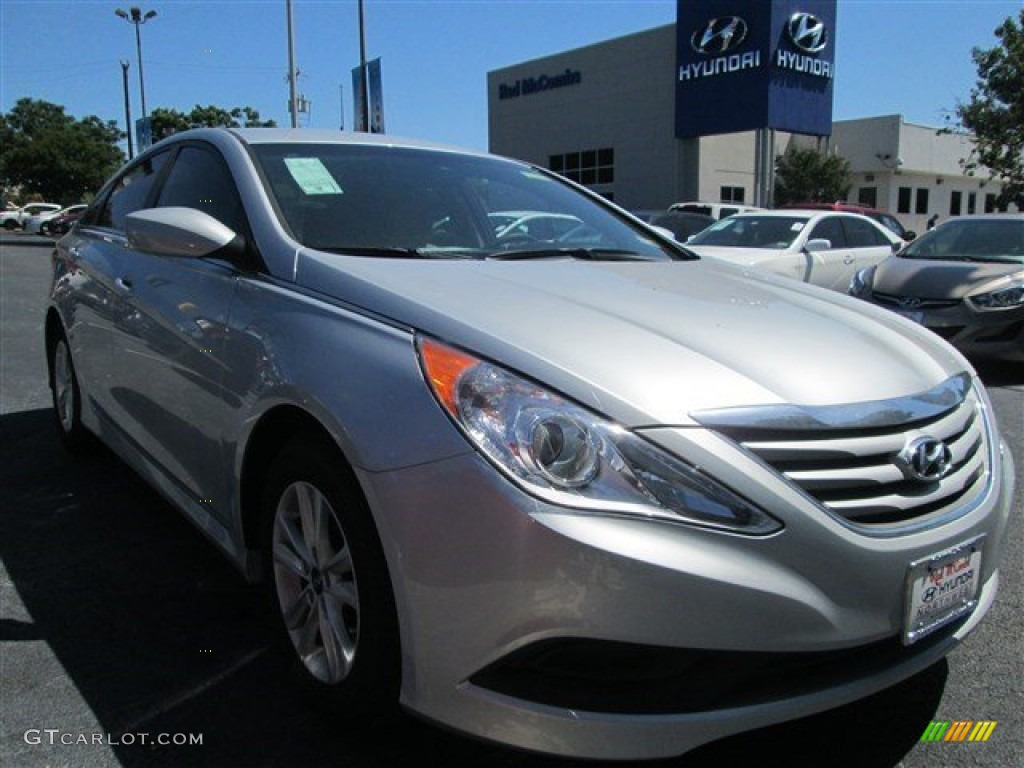 2014 radiant silver hyundai sonata gls 94360644 car color galleries. Black Bedroom Furniture Sets. Home Design Ideas