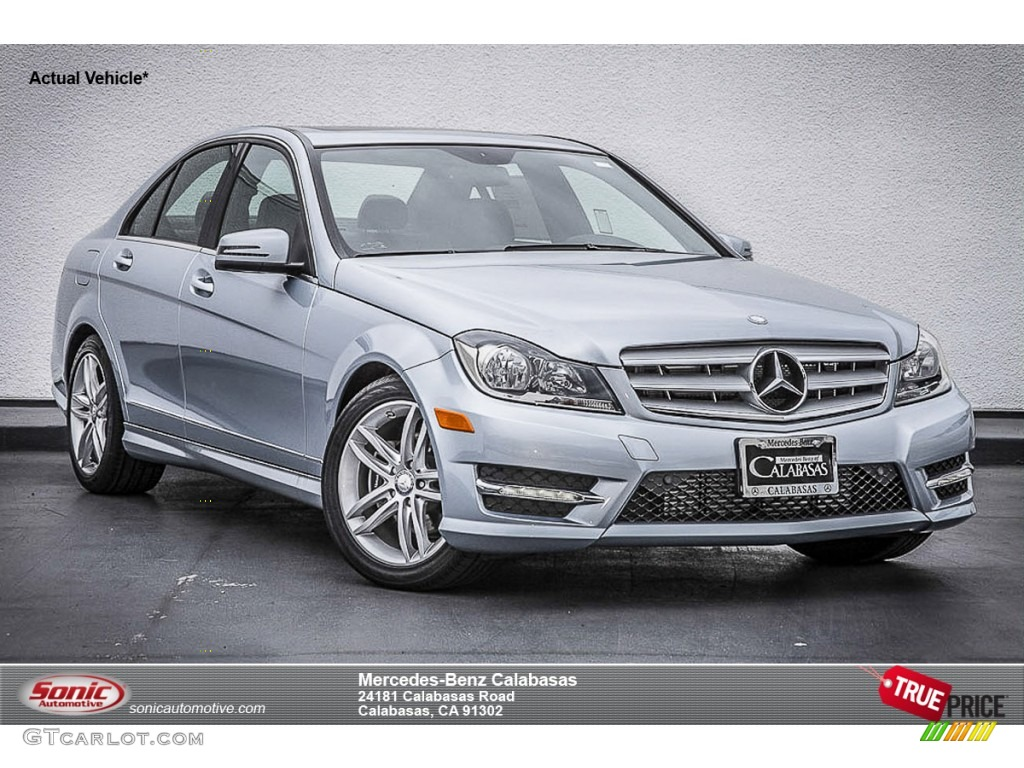 2014 diamond silver metallic mercedes benz c 250 sport for Mercedes benz silver