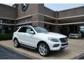Diamond White Metallic 2014 Mercedes-Benz ML 350 4Matic