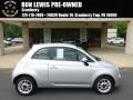 Argento (Silver) 2012 Fiat 500 Pop