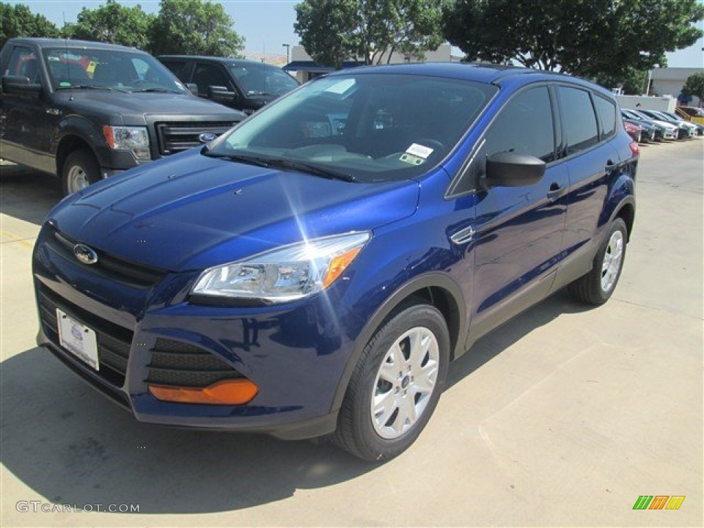 Deep Impact Blue Ford Escape
