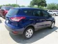 2014 Deep Impact Blue Ford Escape S  photo #5
