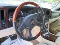 2006 Cadillac Escalade Shale Interior Steering Wheel Photo