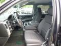 2014 Chevrolet Silverado 1500 Jet Black Interior Front Seat Photo