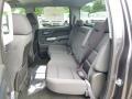 2014 Chevrolet Silverado 1500 Jet Black Interior Rear Seat Photo