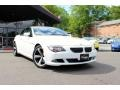 Alpine White 2008 BMW 6 Series 650i Convertible