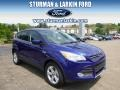 2014 Deep Impact Blue Ford Escape SE 1.6L EcoBoost 4WD  photo #1