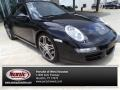 Black 2008 Porsche 911 Carrera S Coupe