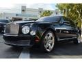Anthracite Metallic 2011 Bentley Mulsanne Sedan