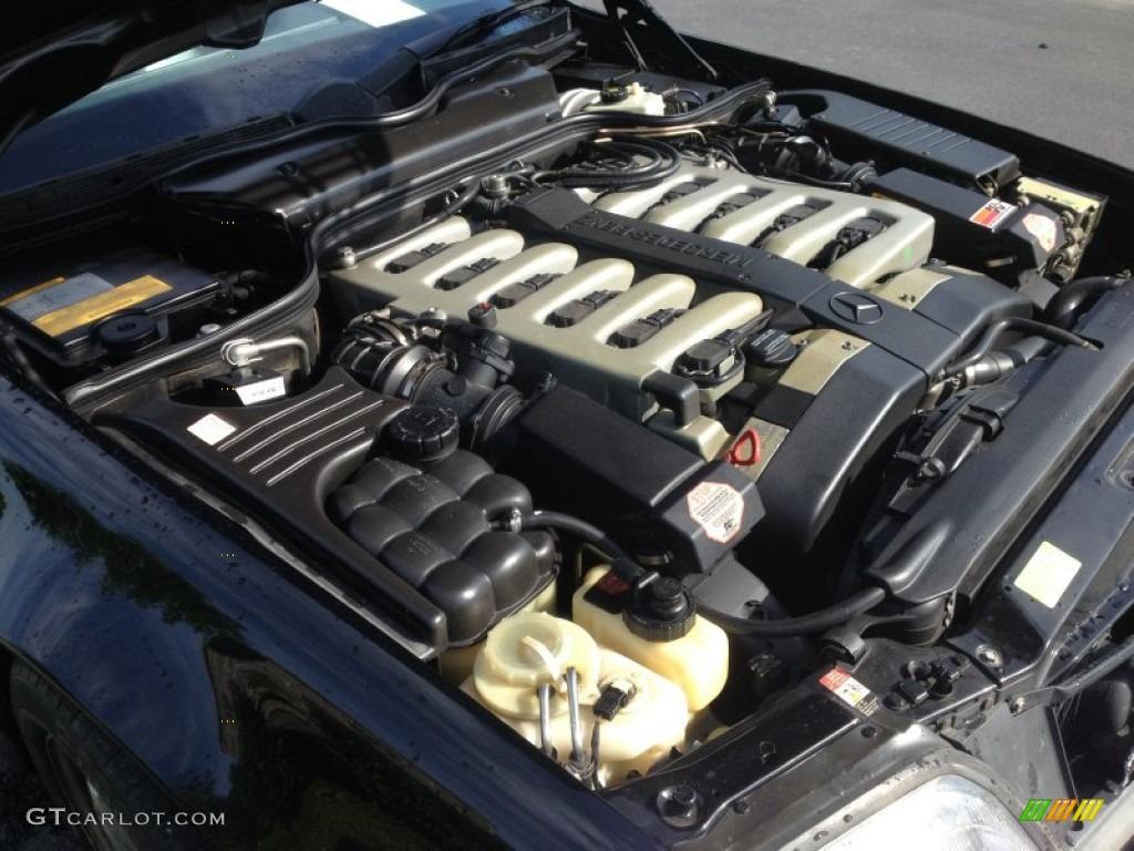 1997 mercedes benz sl 600 roadster 6 0 liter dohc 48 valve for Mercedes benz v12 engine