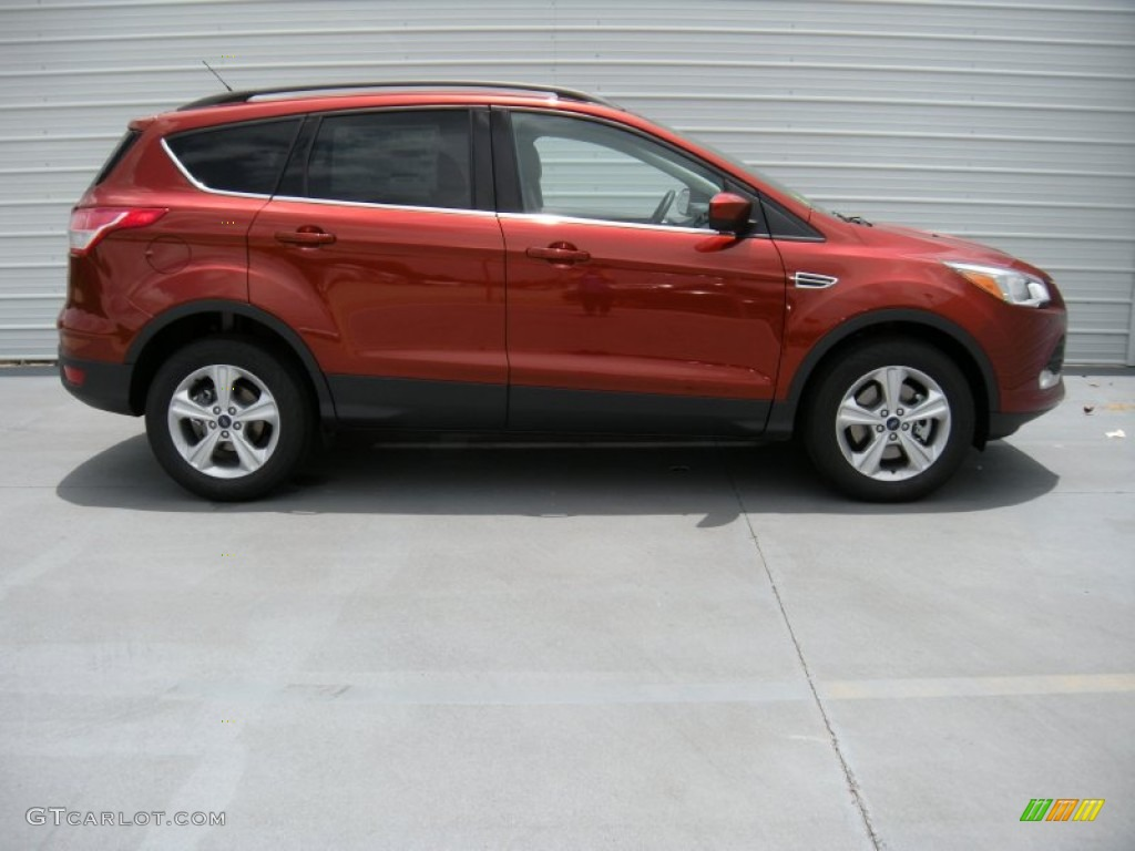 2014 Escape SE 2.0L EcoBoost - Sunset / Charcoal Black photo #3