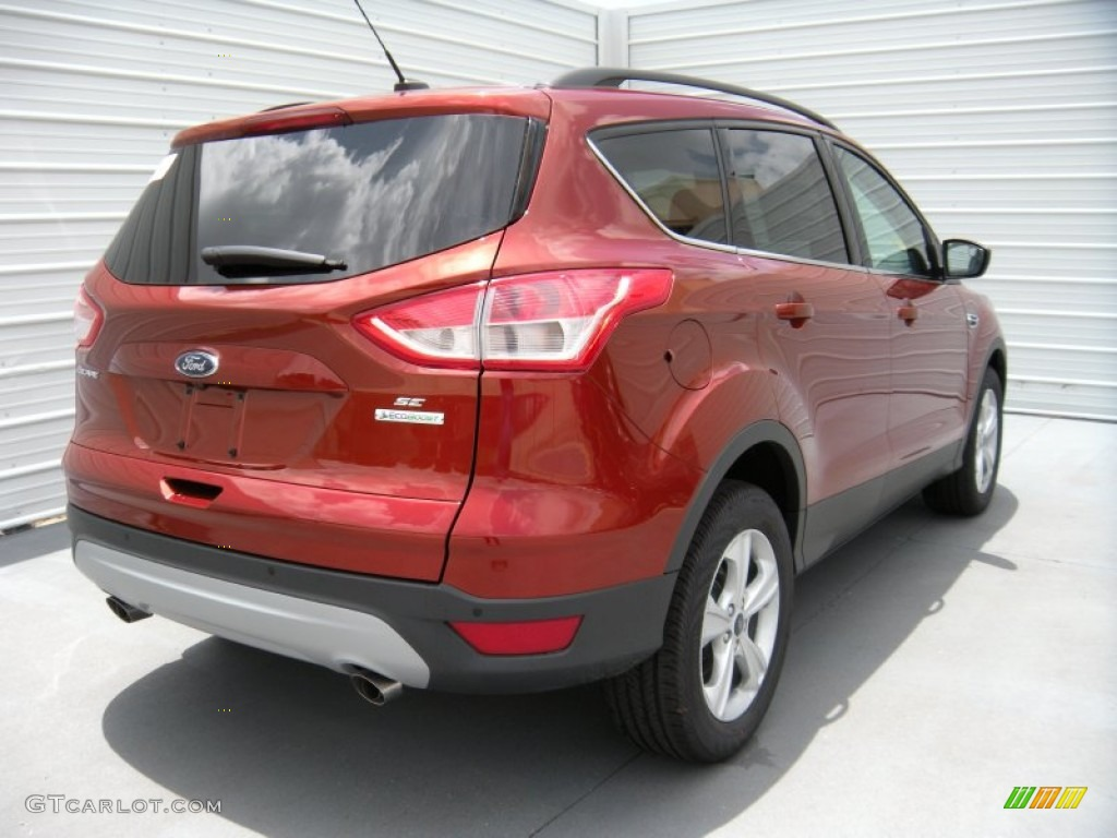 2014 Escape SE 2.0L EcoBoost - Sunset / Charcoal Black photo #4