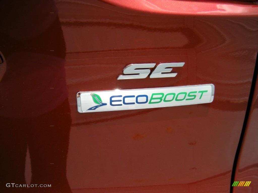 2014 Escape SE 2.0L EcoBoost - Sunset / Charcoal Black photo #14