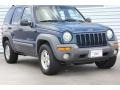 2002 Patriot Blue Pearlcoat Jeep Liberty Sport 4x4 #94515706