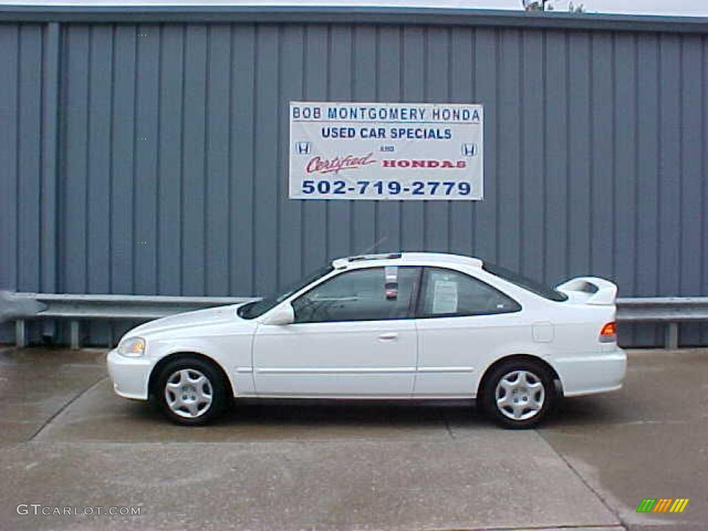 Taffeta White Honda Civic. Honda Civic EX Coupe