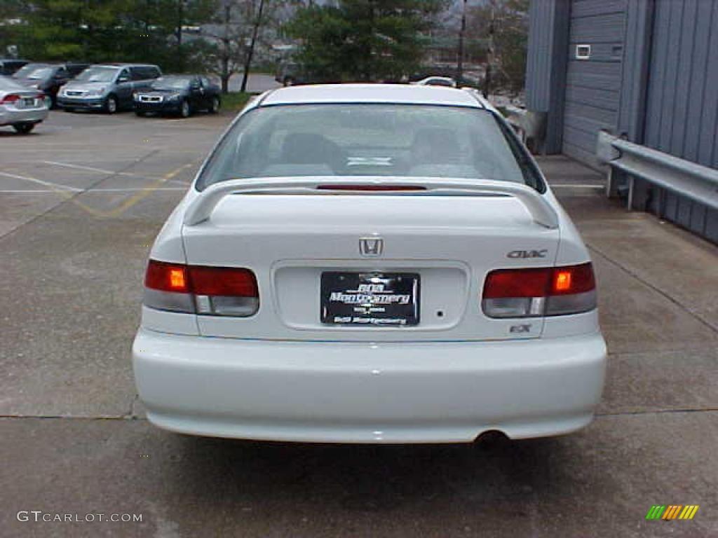 1999 taffeta white honda civic ex coupe 9452388 photo 8. Black Bedroom Furniture Sets. Home Design Ideas