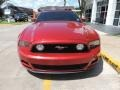 2013 Red Candy Metallic Ford Mustang GT Convertible  photo #4