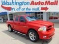 2012 Flame Red Dodge Ram 1500 ST Quad Cab 4x4 #94553026