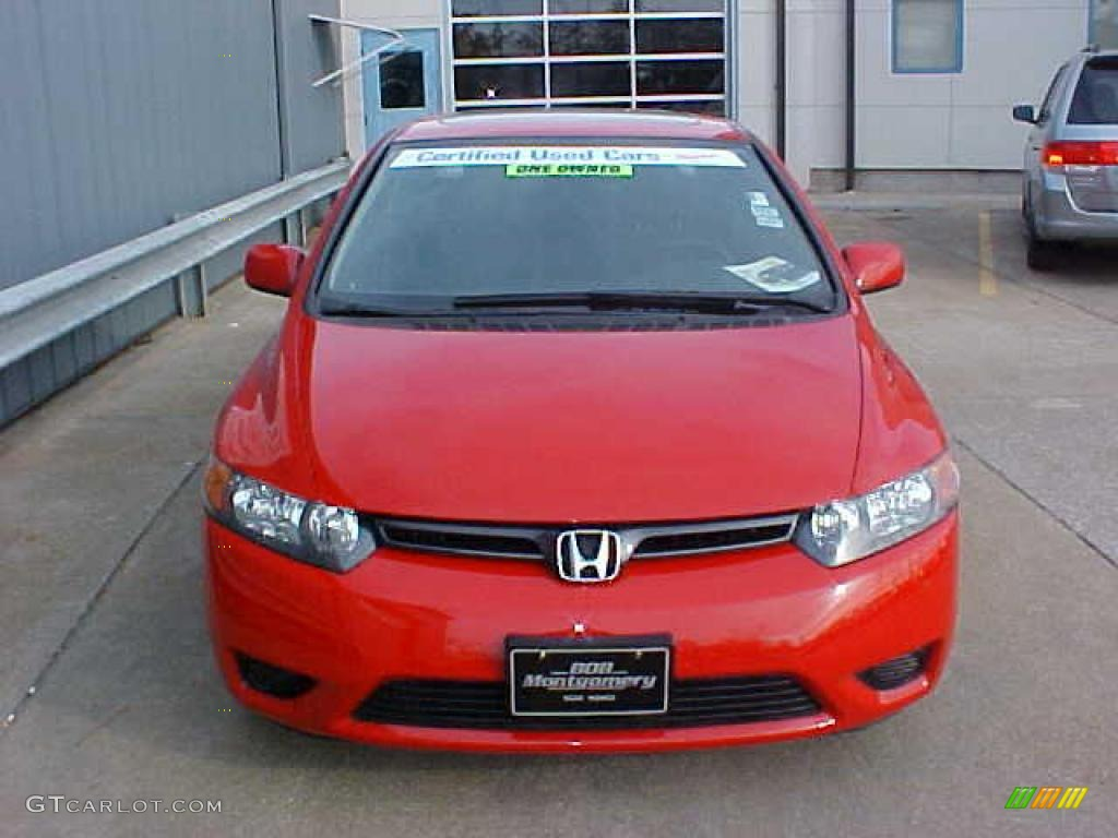 2006 rallye red honda civic ex coupe 9452332 photo 3 car color galleries. Black Bedroom Furniture Sets. Home Design Ideas
