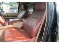 2012 Green Gem Metallic Ford F250 Super Duty King Ranch Crew Cab 4x4  photo #48
