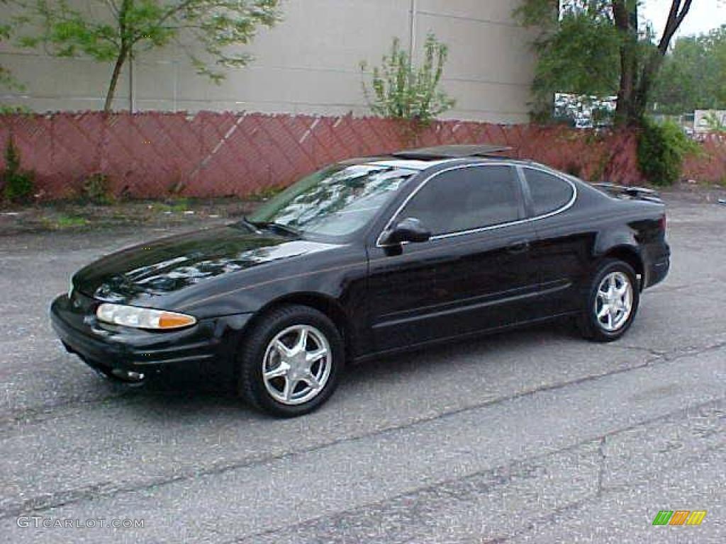 1999 black onyx oldsmobile alero gls coupe 9452300 photo. Black Bedroom Furniture Sets. Home Design Ideas