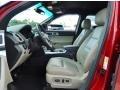 Medium Light Stone Interior Photo for 2013 Ford Explorer #94576843