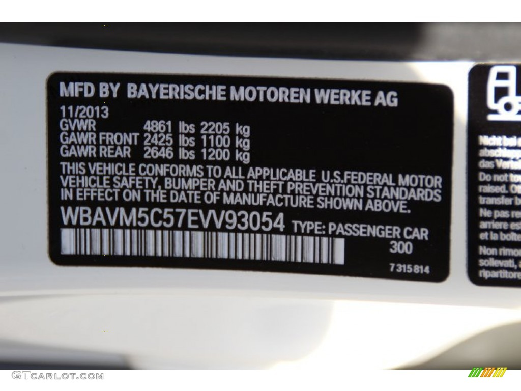 Bmw  Series Alpine White Paint Code