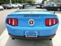 2011 Grabber Blue Ford Mustang V6 Premium Convertible  photo #4