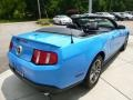 2011 Grabber Blue Ford Mustang V6 Premium Convertible  photo #5