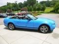 2011 Grabber Blue Ford Mustang V6 Premium Convertible  photo #6