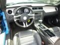 2011 Grabber Blue Ford Mustang V6 Premium Convertible  photo #17