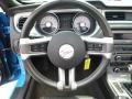 2011 Grabber Blue Ford Mustang V6 Premium Convertible  photo #21