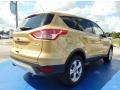2014 Karat Gold Ford Escape SE 1.6L EcoBoost  photo #3