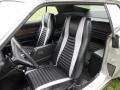 1972 Ford Mustang Black Interior Front Seat Photo