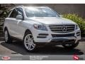 Polar White 2014 Mercedes-Benz ML 350