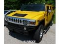 2005 Yellow Hummer H2 SUV #94592455