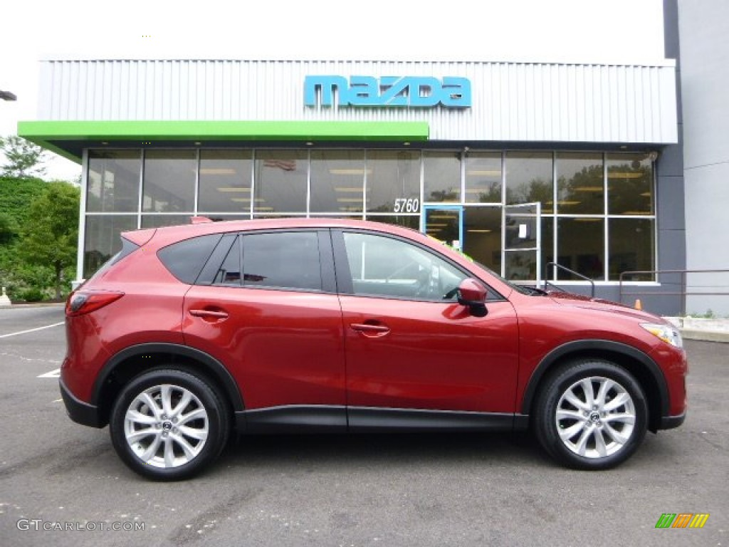 2013 zeal red mica mazda cx 5 grand touring awd 94592177 car color galleries. Black Bedroom Furniture Sets. Home Design Ideas