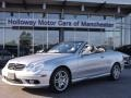 Brilliant Silver Metallic - CLK 55 AMG Cabriolet Photo No. 1