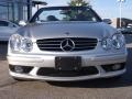 Brilliant Silver Metallic - CLK 55 AMG Cabriolet Photo No. 2