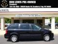 Blackberry Pearl 2010 Chrysler Town & Country Touring