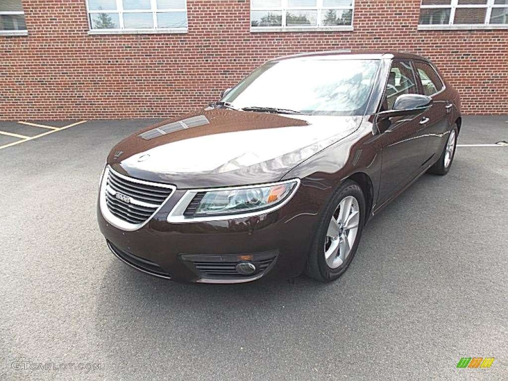2011 java brown metallic saab 9 5 turbo4 sedan 94679279. Black Bedroom Furniture Sets. Home Design Ideas