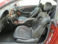 2005 CLK 320 Coupe Charcoal Interior